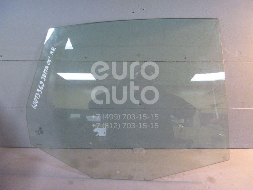 Стекло двери задней правой для VW Jetta 2006-2011 - Фото №1