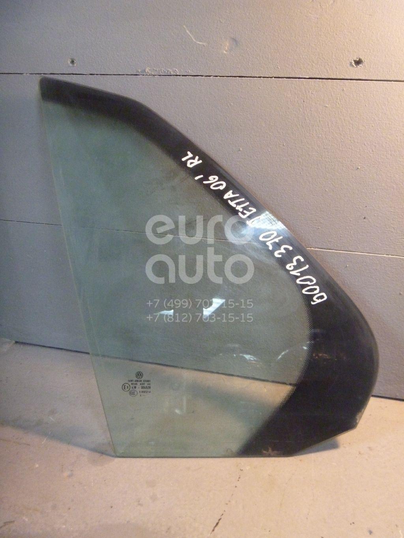 Стекло двери задней левой (форточка) для VW Jetta 2006-2011 - Фото №1
