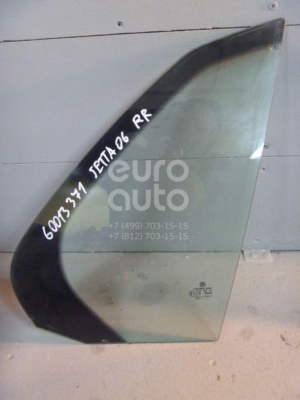 Стекло двери задней правой (форточка) для VW Jetta 2006-2011 - Фото №1