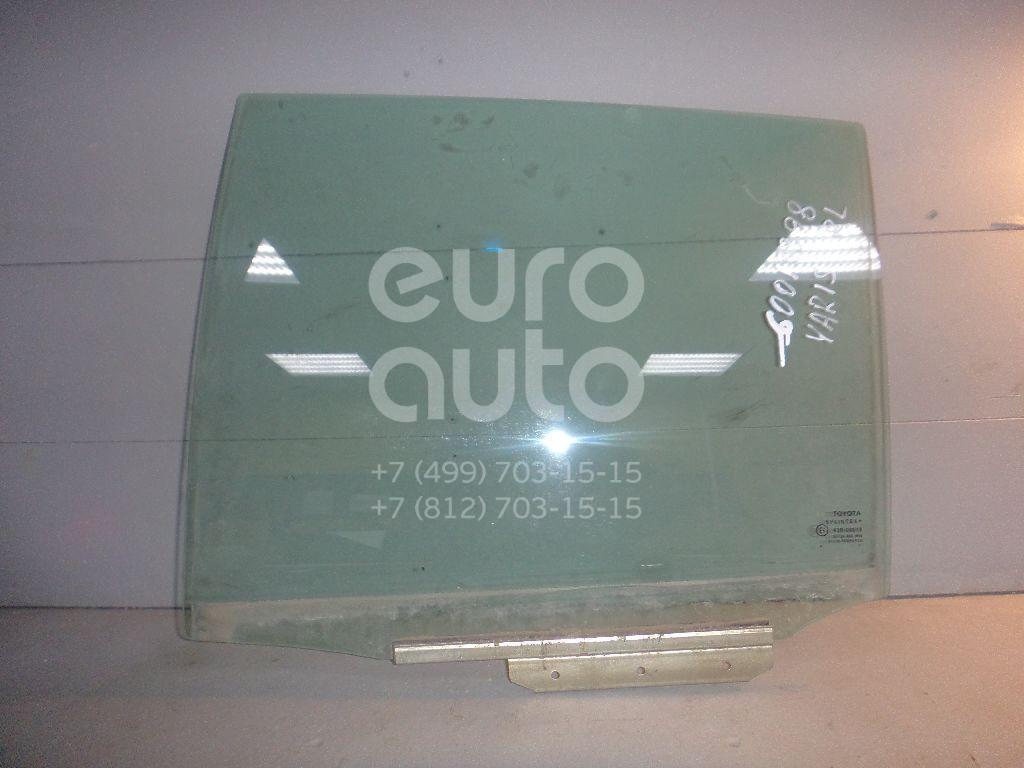 Стекло двери задней левой для Toyota Yaris 2005-2011 - Фото №1