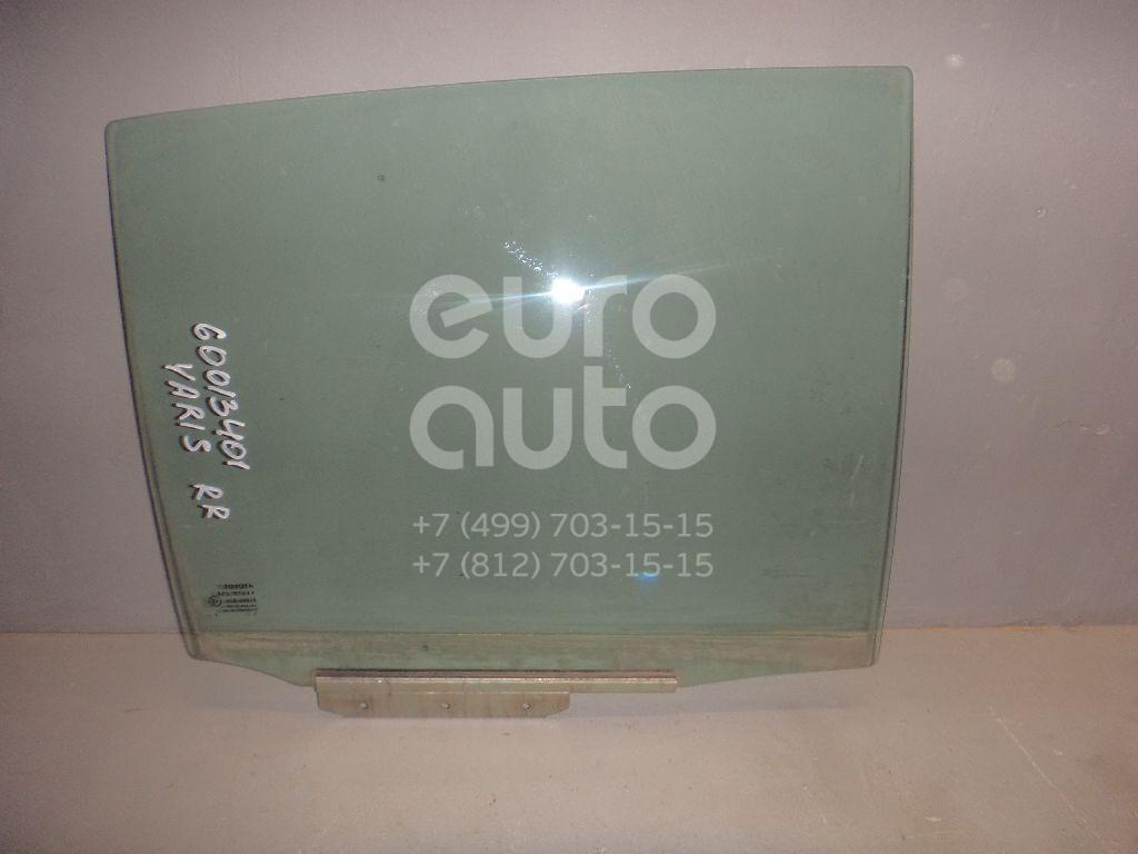 Стекло двери задней правой для Toyota Yaris 2005-2011 - Фото №1