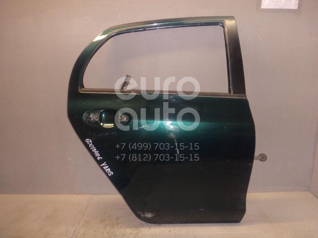 Дверь задняя правая для Toyota Yaris 2005-2011 - Фото №1