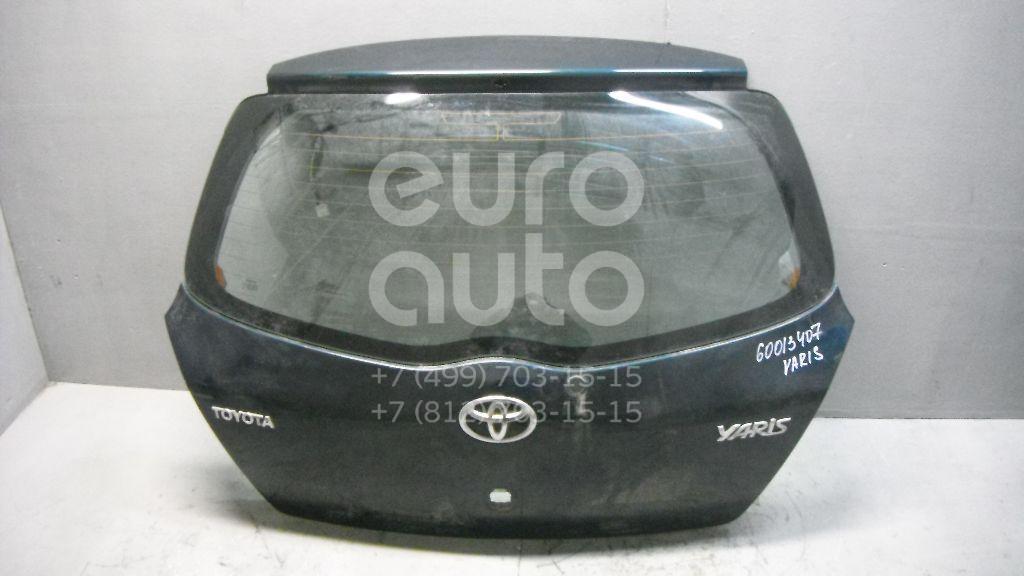 Дверь багажника со стеклом для Toyota Yaris 2005-2011 - Фото №1