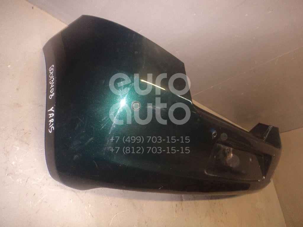Бампер задний для Toyota Yaris 2005-2011 - Фото №1