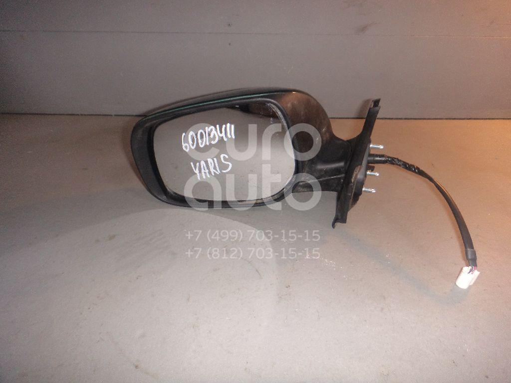 Зеркало левое электрическое для Toyota Yaris 2005-2011 - Фото №1