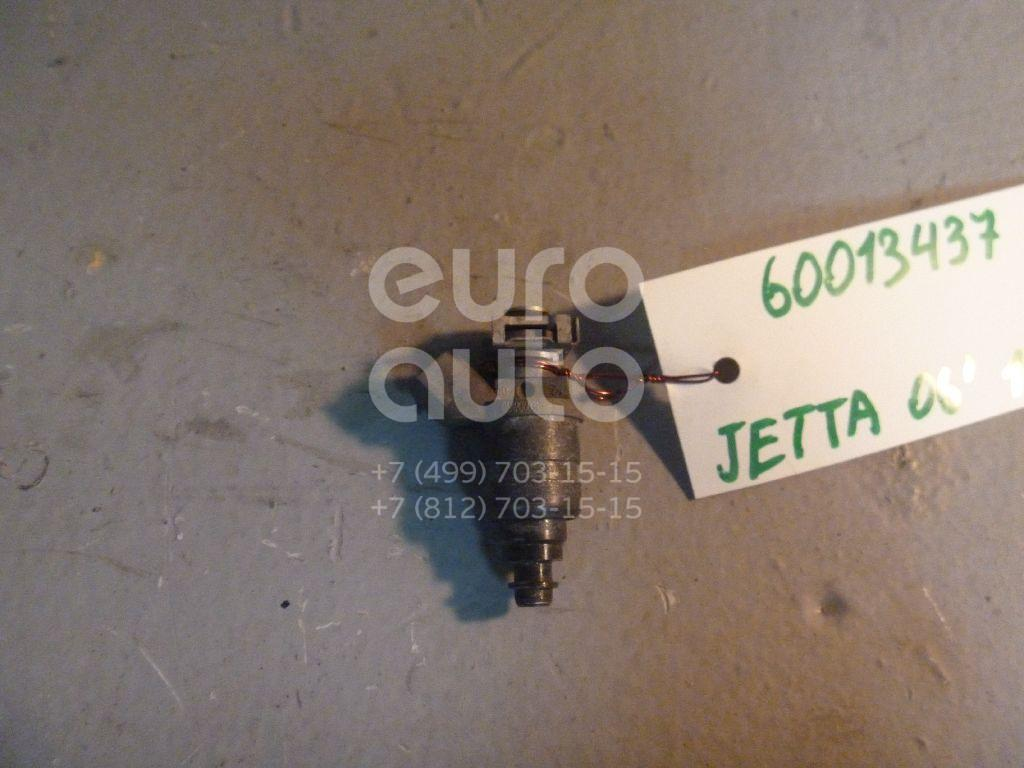 Форсунка инжекторная электрическая для VW Jetta 2006-2011;Caddy III 2004>;Golf V Plus 2005-2014;Passat [B6] 2005-2010;Golf V 2003-2009;Touran 2003-2010;Octavia (A5 1Z-) 2004-2013;Leon (1P1) 2005-2013;Altea 2004>;Toledo III 2004-2009 - Фото №1