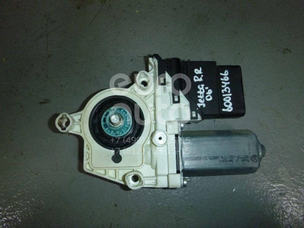Моторчик стеклоподъемника для VW Jetta 2006-2011;Golf V Plus 2005-2014;Passat [B6] 2005-2010;Golf V 2003-2009 - Фото №1