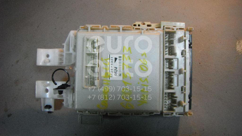 Блок предохранителей для Toyota Yaris 2005-2011 - Фото №1