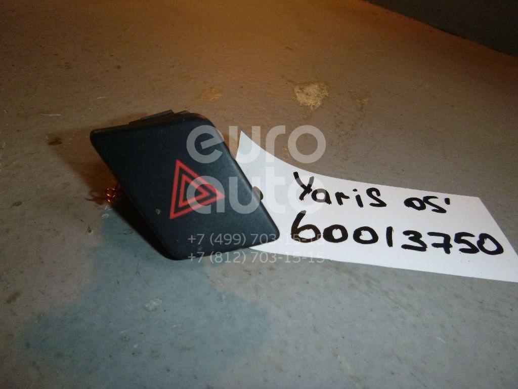 Кнопка аварийной сигнализации для Toyota Yaris 2005-2011 - Фото №1