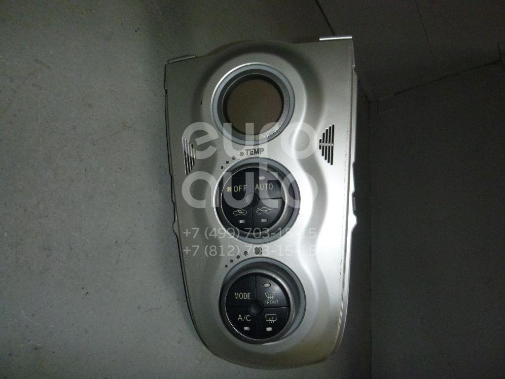 Блок управления климатической установкой для Toyota Yaris 2005-2011 - Фото №1