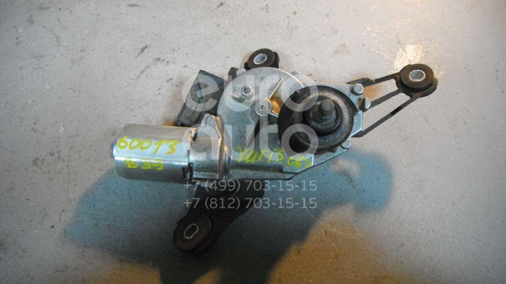 Моторчик стеклоочистителя задний для Toyota Yaris 2005-2011 - Фото №1