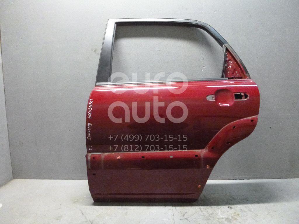 Дверь задняя левая для Kia Sportage 2004-2010 - Фото №1