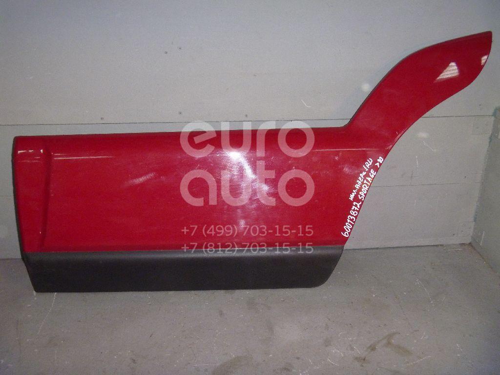 Молдинг задней левой двери для Kia Sportage 2004-2010 - Фото №1