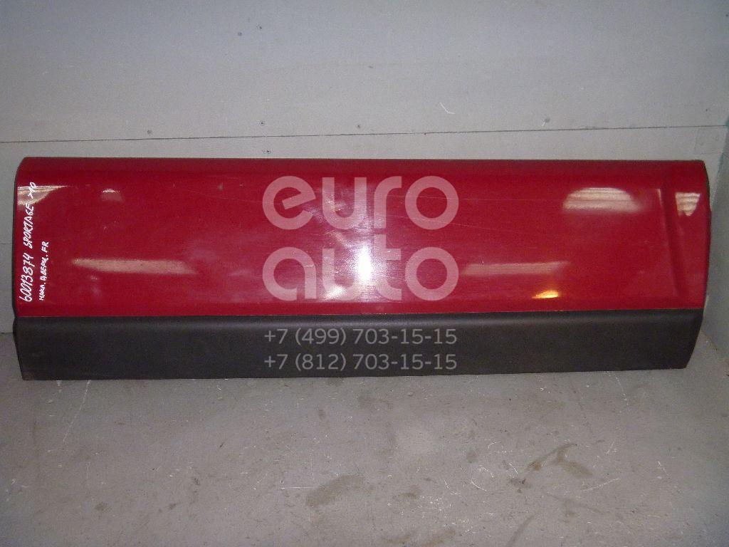 Молдинг передней правой двери для Kia Sportage 2004-2010 - Фото №1