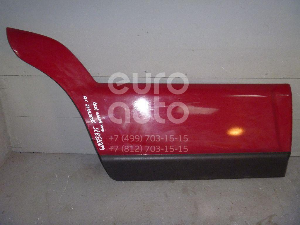 Накладка двери задней правой для Kia Sportage 2004-2010 - Фото №1