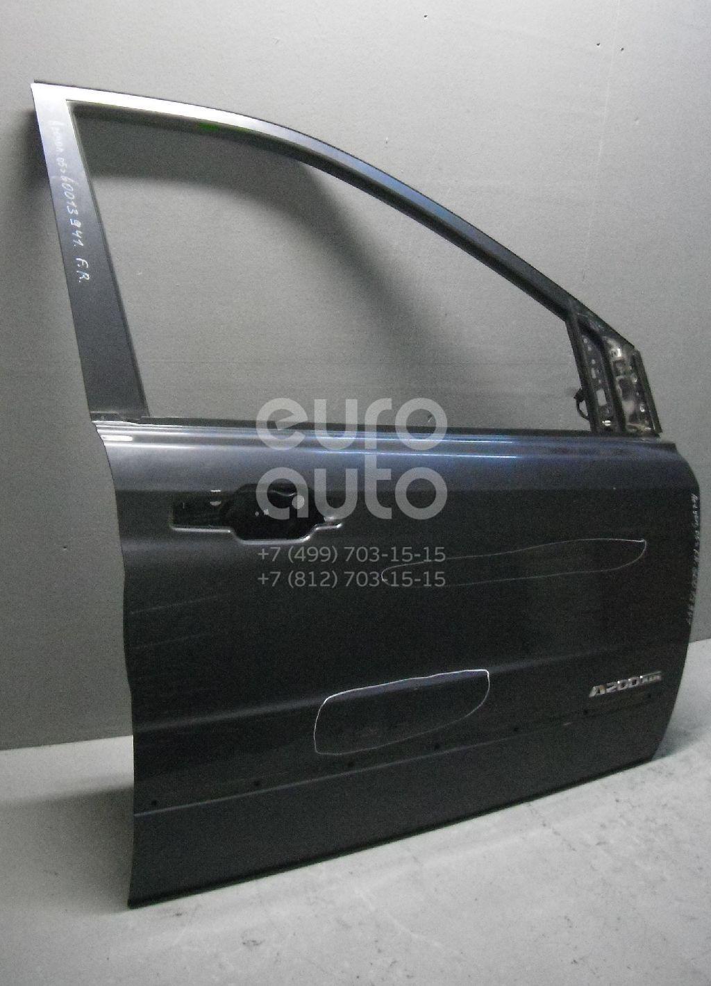 Дверь передняя правая для Ssang Yong Actyon 2005-2012;Kyron 2005>;Actyon Sport 2006-2012;Actyon Sport 2012> - Фото №1