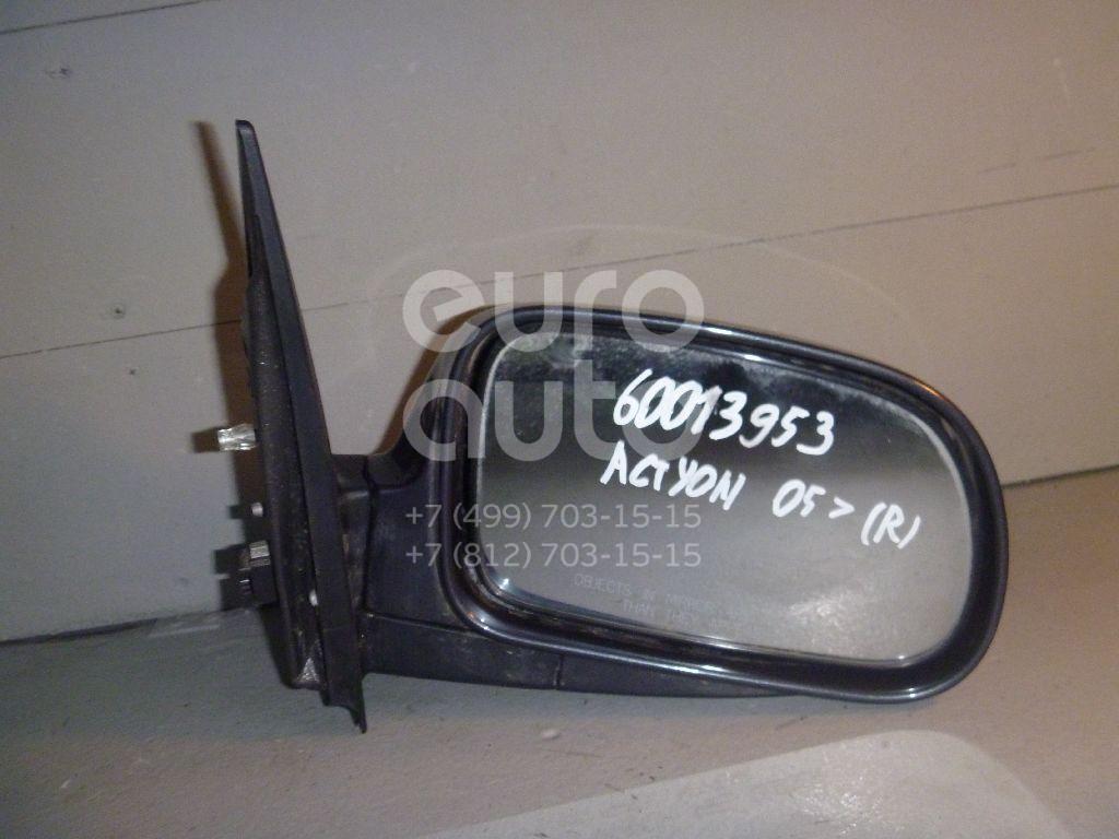 Зеркало правое электрическое для Ssang Yong Actyon 2005-2012;Actyon Sport 2006-2012 - Фото №1