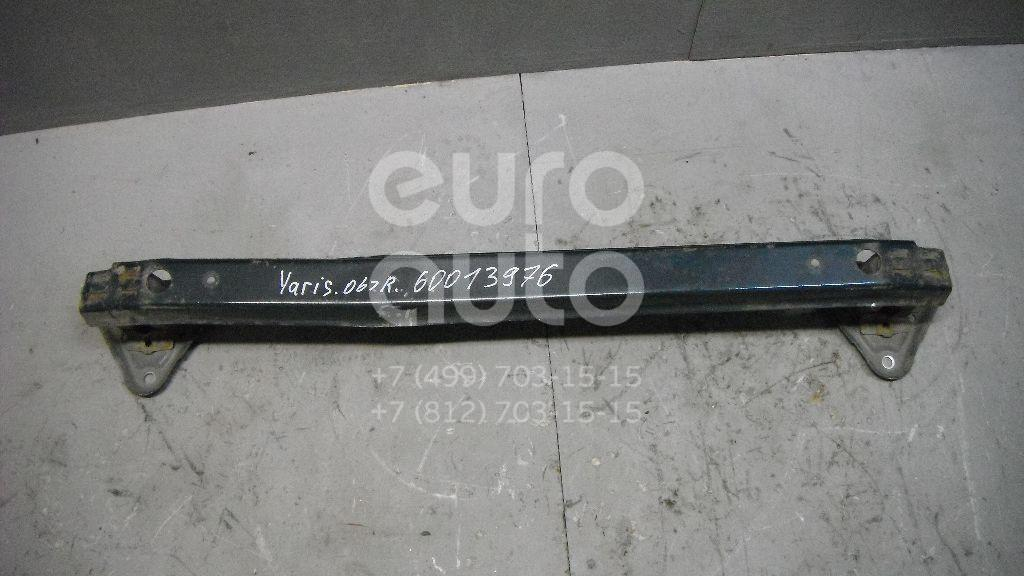 Усилитель заднего бампера для Toyota Yaris 2005-2011 - Фото №1
