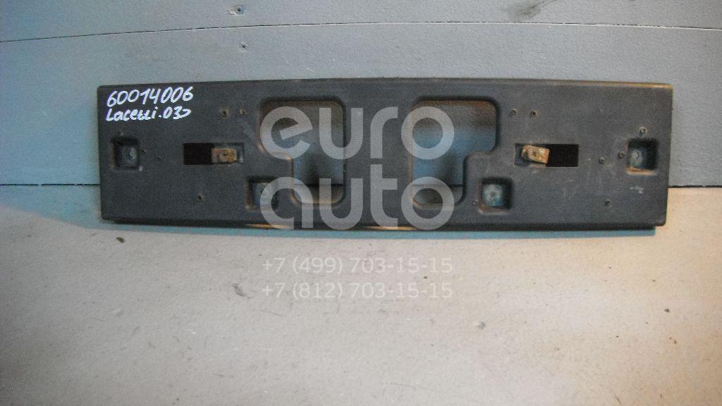 Накладка переднего бампера под номер для Chevrolet Lacetti 2003> - Фото №1