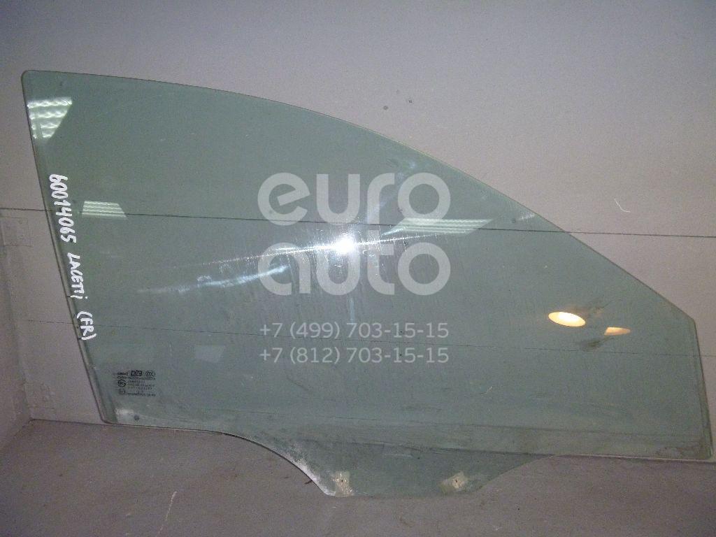 Стекло двери передней правой для Chevrolet Lacetti 2003-2013 - Фото №1