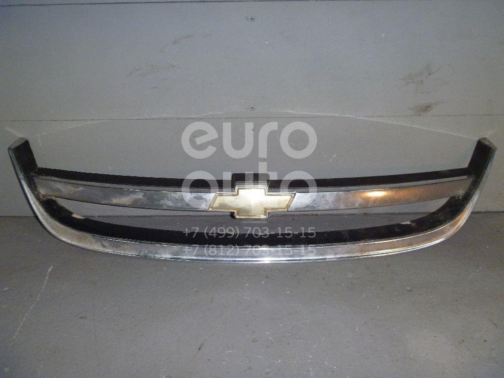Накладка на решетку радиатора для Chevrolet Lacetti 2003-2013 - Фото №1