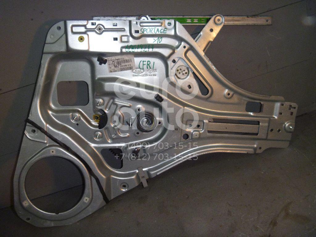 Стеклоподъемник электр. передний правый для Kia Sportage 2004-2010 - Фото №1