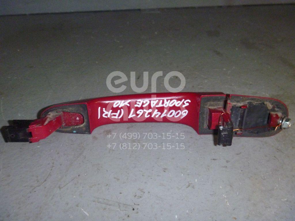 Ручка двери передней наружная правая для Kia Sportage 2004-2010 - Фото №1