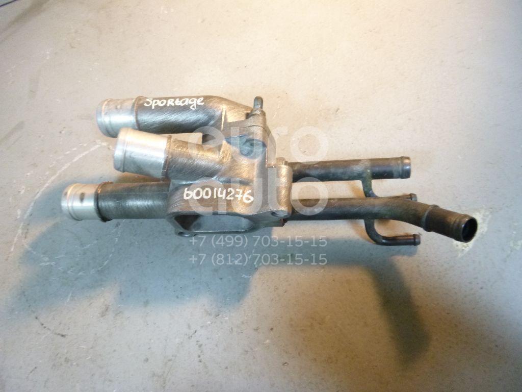 Корпус термостата для Kia Sportage 2004-2010;Tucson 2004-2010;Ceed 2007- 2012 - Фото №1