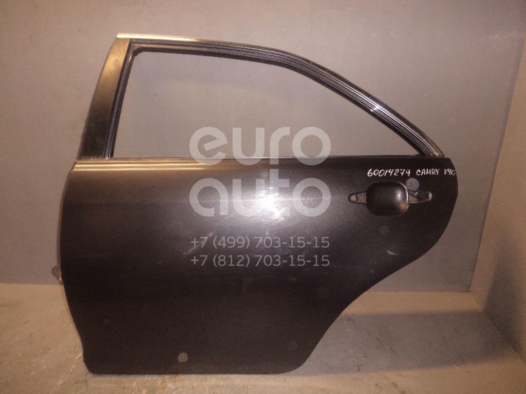 Дверь задняя левая для Toyota Camry XV40 2006-2011 - Фото №1
