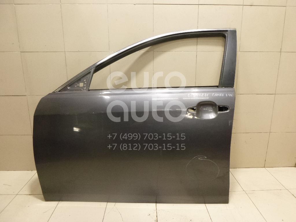 Дверь передняя левая для Toyota Camry XV40 2006-2011 - Фото №1