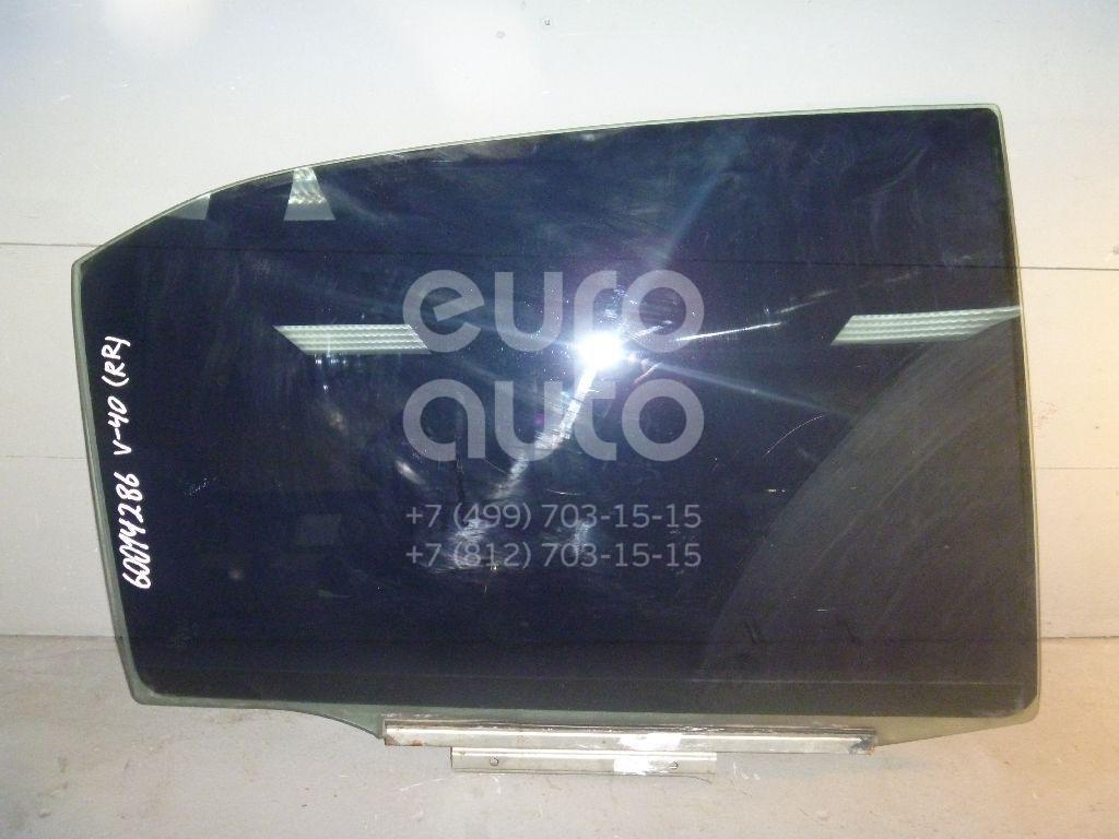 Стекло двери задней правой для Toyota Camry V40 2006-2011 - Фото №1