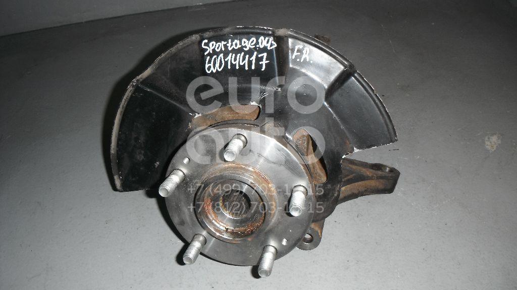 Кулак поворотный передний правый для Kia Sportage 2004-2010 - Фото №1