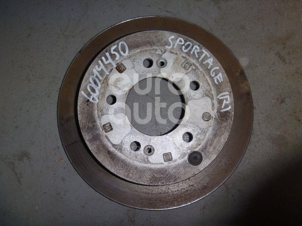 Диск тормозной задний для Hyundai Sportage 2004-2010;Tucson 2004-2010;Santa Fe (SM) 2000-2005;ix35/Tucson 2010-2015 - Фото №1