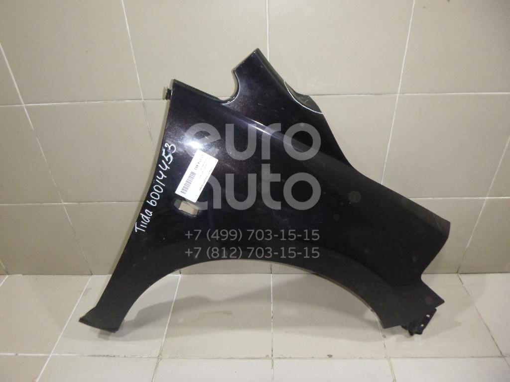 Крыло переднее правое для Nissan Tiida (C11) 2007-2014 - Фото №1