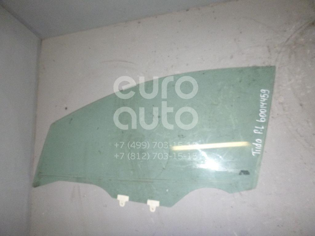 Стекло двери передней левой для Nissan Tiida (C11) 2007-2014 - Фото №1