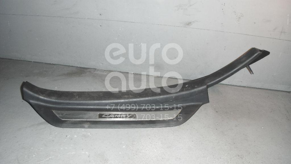 Накладка порога (внутренняя) для Toyota Camry V40 2006-2011 - Фото №1