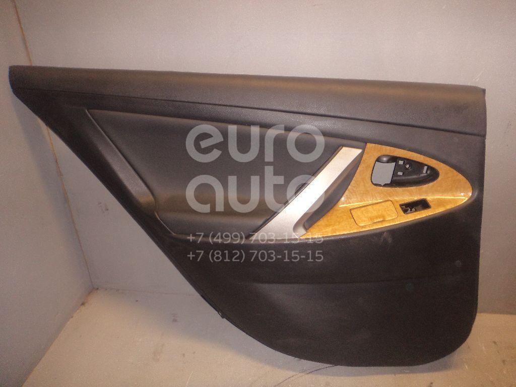 Обшивка двери задней левой для Toyota Camry V40 2006-2011 - Фото №1