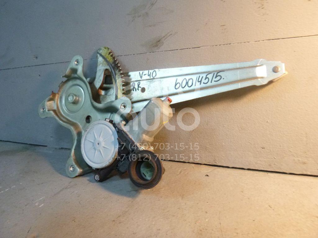 Стеклоподъемник электр. задний правый для Toyota Camry V40 2006-2011 - Фото №1