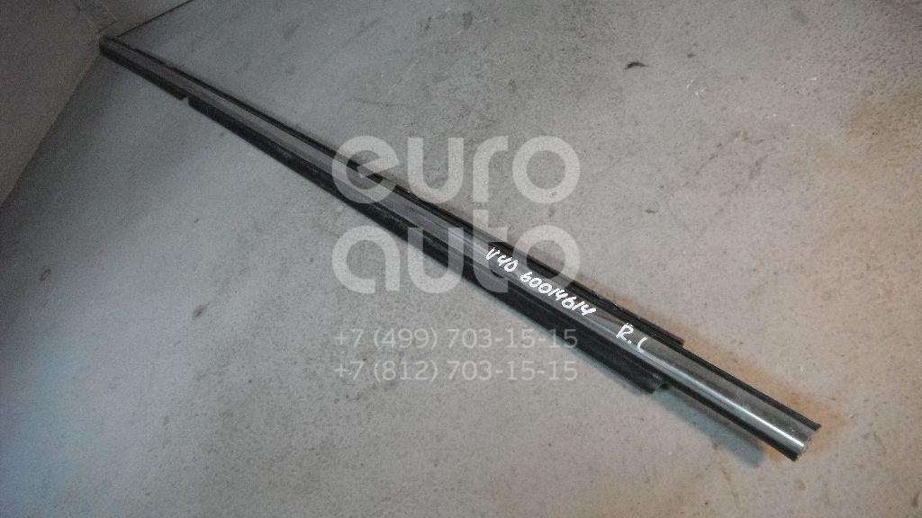 Накладка стекла заднего левого для Toyota Camry V40 2006-2011 - Фото №1
