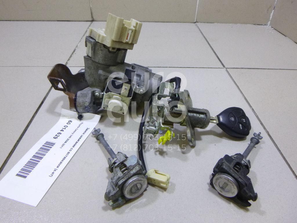 Замок зажигания со вставками (к-кт) для Toyota Camry V40 2006-2011 - Фото №1