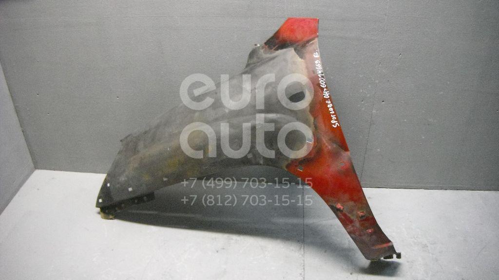 Крыло переднее левое для Kia Sportage 2004-2010 - Фото №1