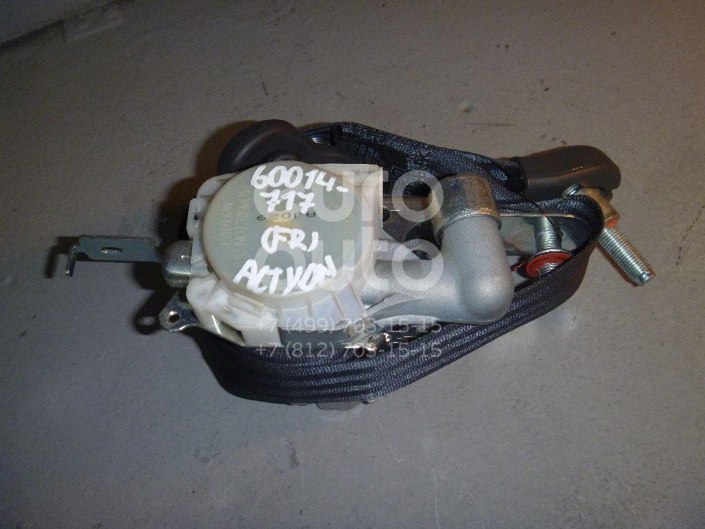 Ремень безопасности с пиропатроном для Ssang Yong Actyon 2005-2012 - Фото №1