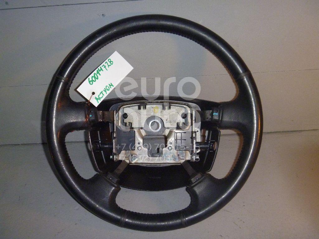 Рулевое колесо для AIR BAG (без AIR BAG) для Ssang Yong Actyon 2005-2012;Actyon Sport 2006-2012 - Фото №1