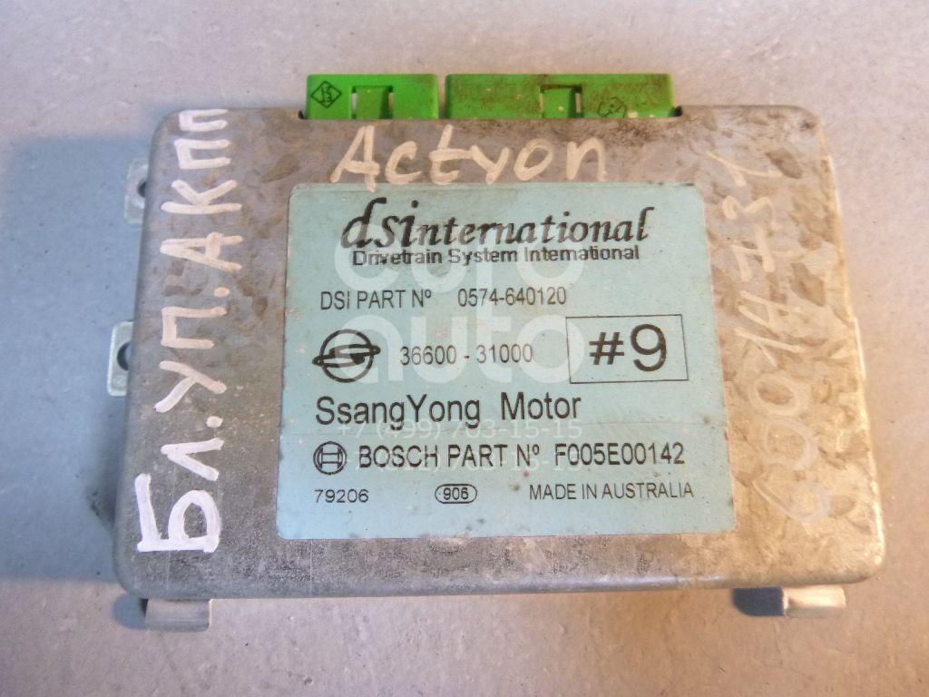 Блок управления АКПП для Ssang Yong Actyon 2005-2012;Kyron 2005>;Actyon Sport 2006-2012 - Фото №1