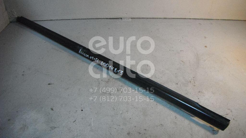 Накладка стекла переднего левого для Ssang Yong Actyon 2005-2012;Kyron 2005>;Actyon Sport 2006-2012;Actyon Sport 2012> - Фото №1