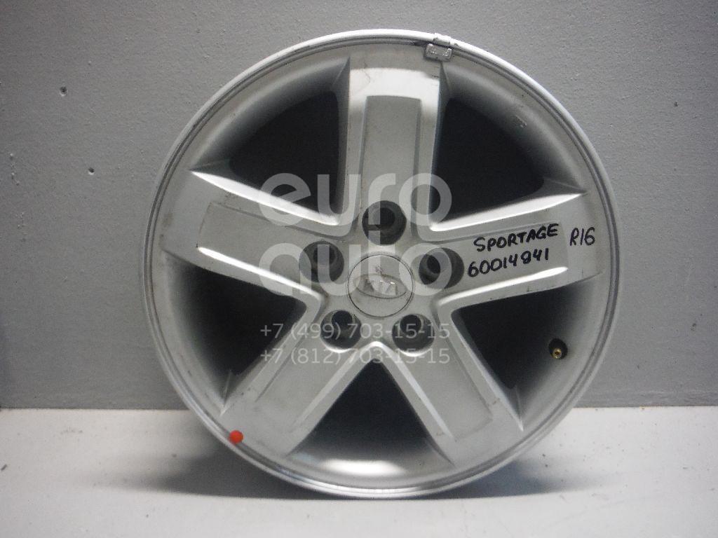 Диск колесный легкосплавный для Kia Sportage 2004-2010 - Фото №1
