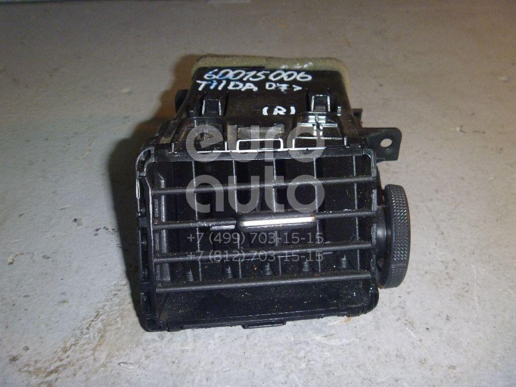 Дефлектор воздушный для Nissan Tiida (C11) 2007-2014 - Фото №1