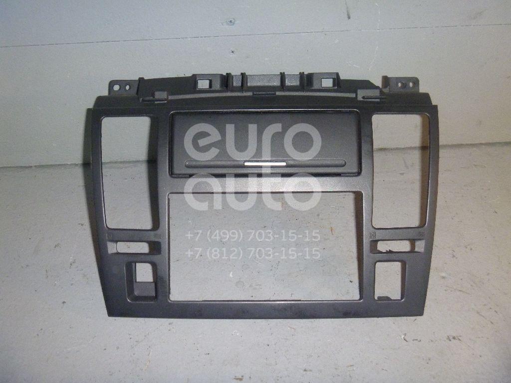 Рамка магнитолы для Nissan Tiida (C11) 2007-2014 - Фото №1