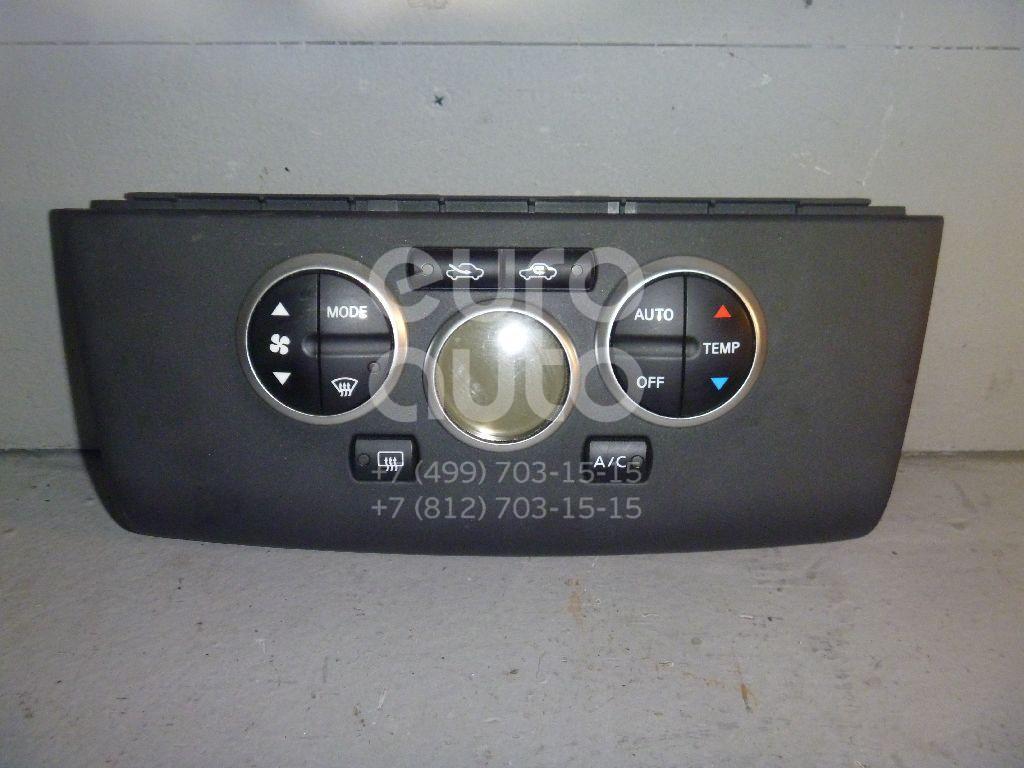 Блок управления климатической установкой для Nissan Tiida (C11) 2007-2014 - Фото №1