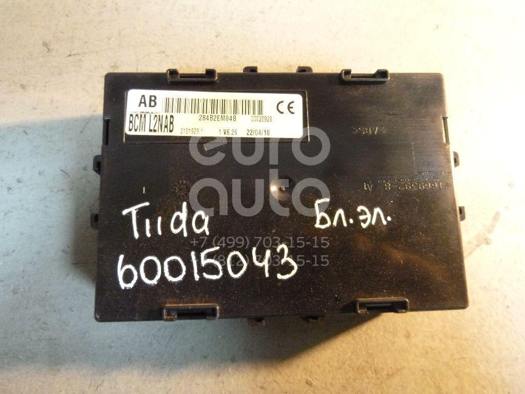 Блок электронный для Nissan Tiida (C11) 2007-2014;Note (E11) 2006-2013 - Фото №1